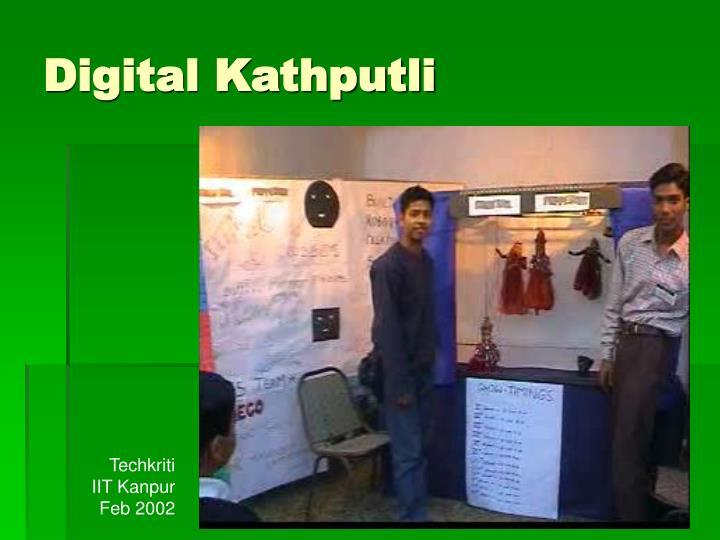 Digital Kathputli