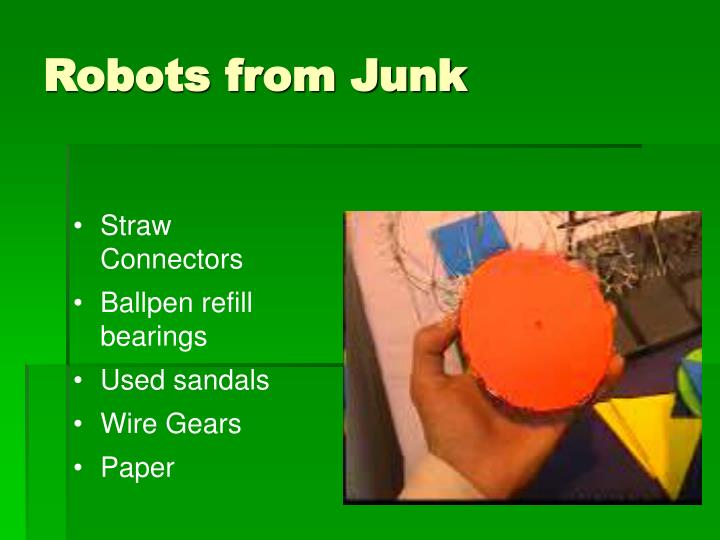 Robots from Junk