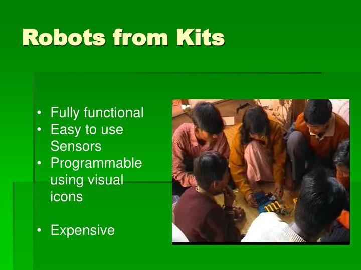 Robots from Kits