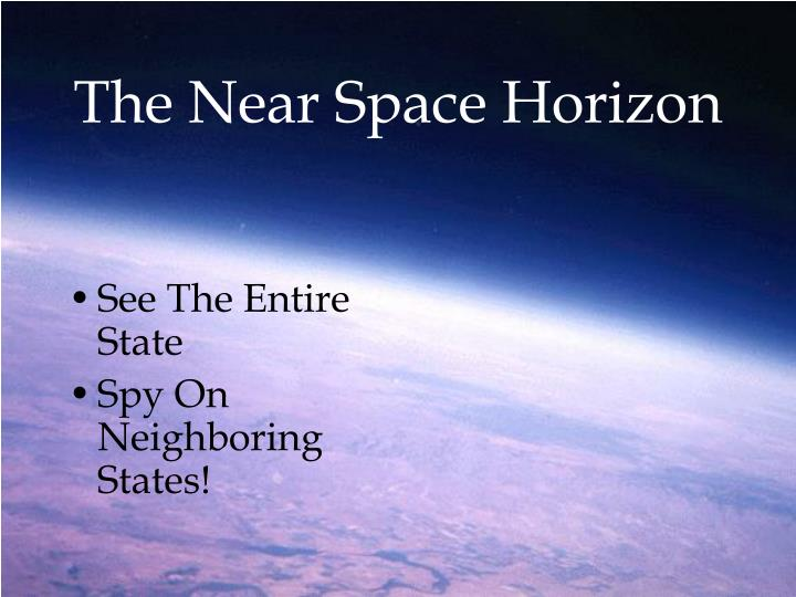 The Near Space Horizon