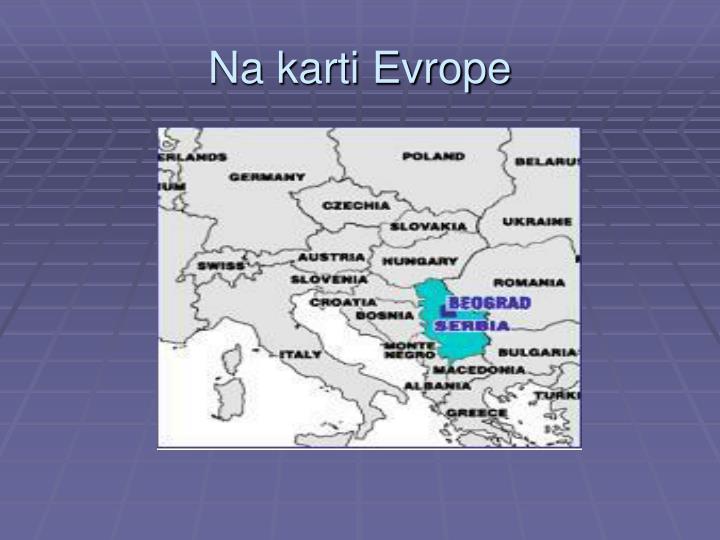 Na karti Evrope