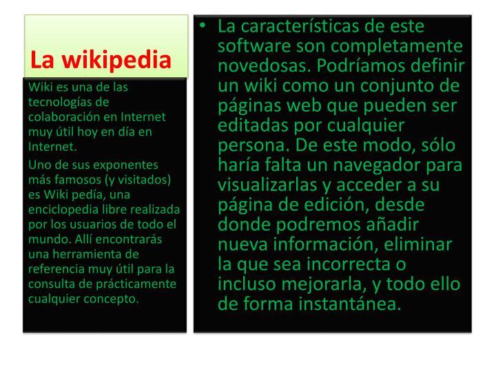 La wikipedia