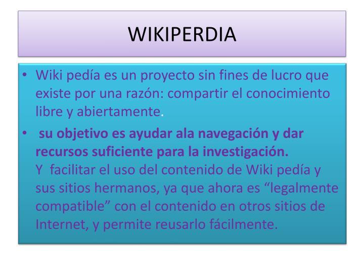 WIKIPERDIA