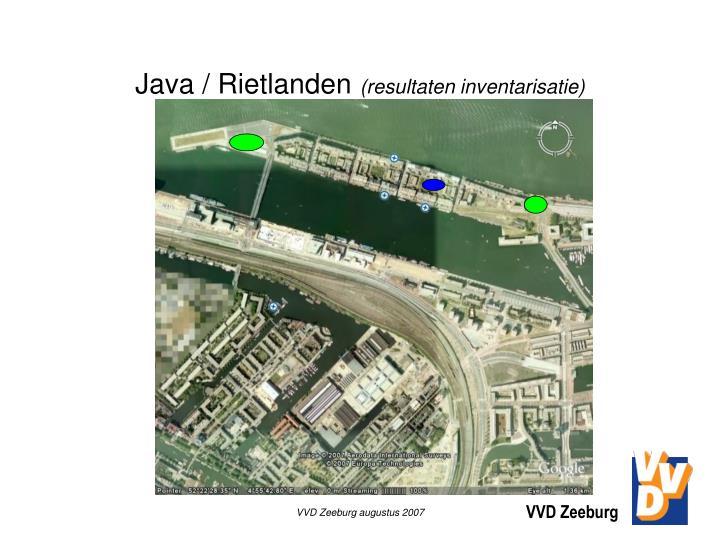 Java / Rietlanden