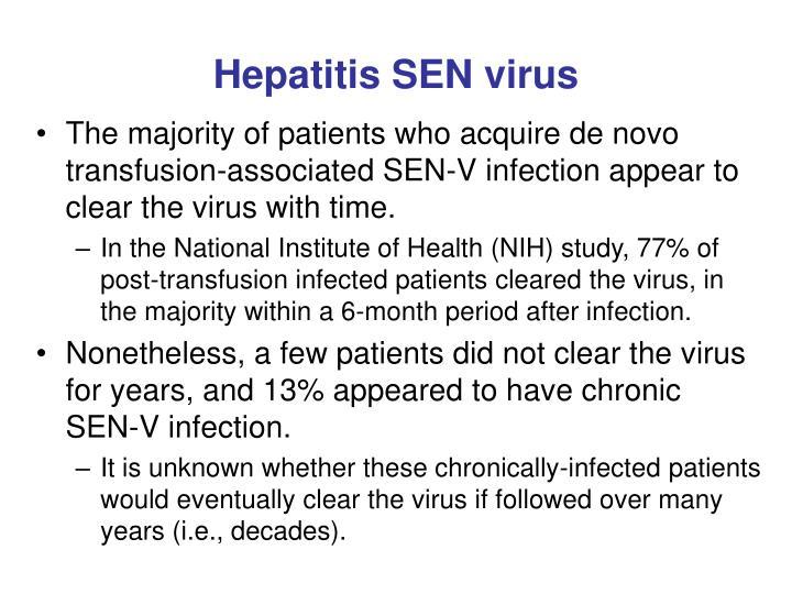 Hepatitis SEN virus