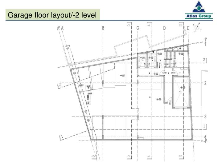 Garage floor layout/-2 level