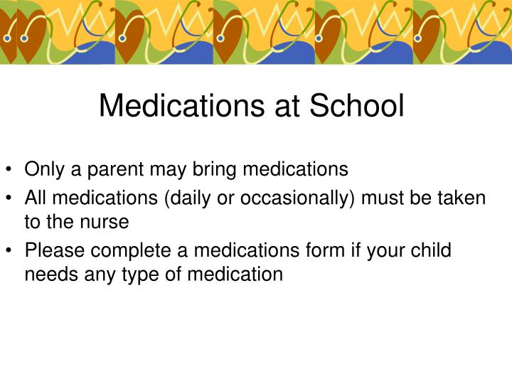 Medications at School