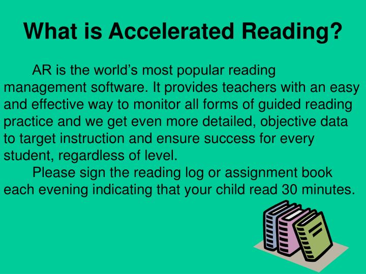 What is Accelerated Reading?