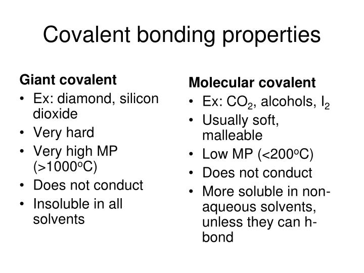 Giant covalent