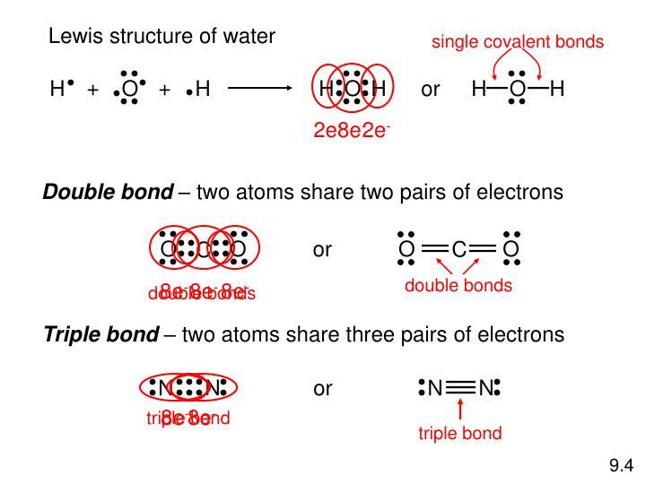 single covalent bonds