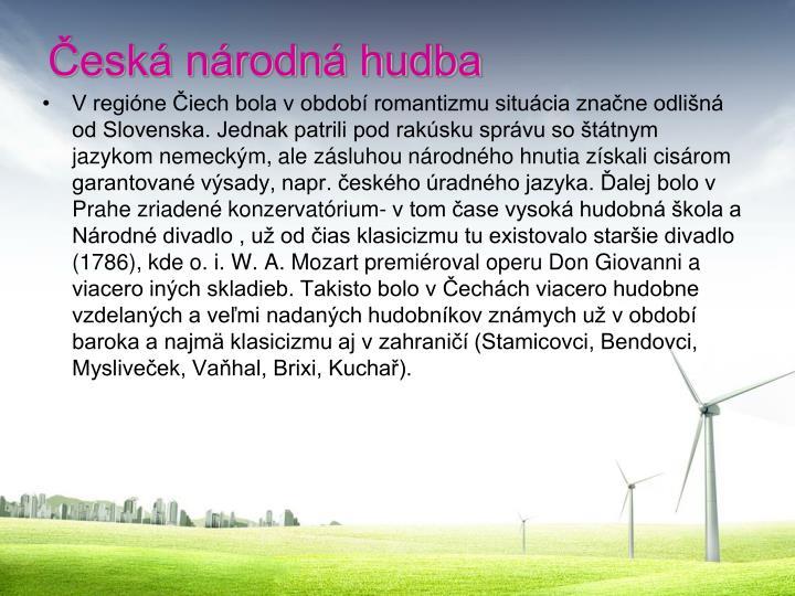 Česká národná hudba