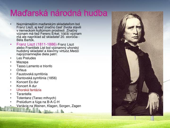 Maďarská národná hudba