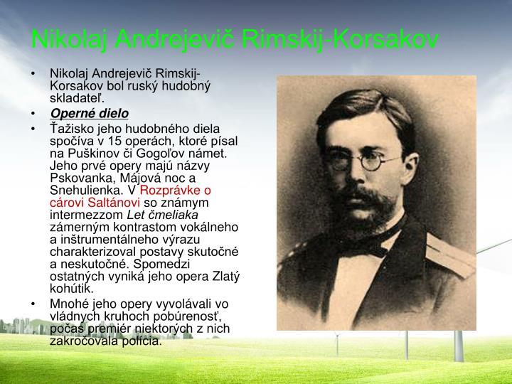 Nikolaj Andrejevič Rimskij-Korsakov