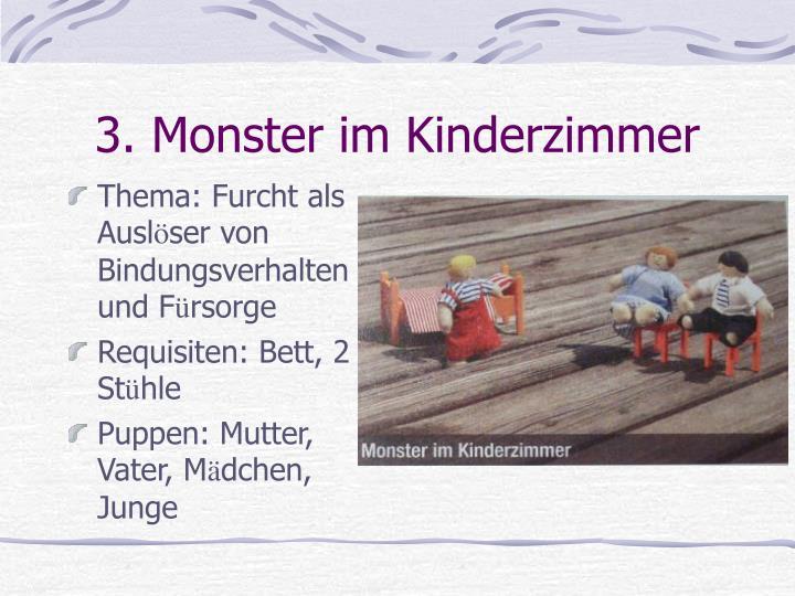 3. Monster im Kinderzimmer