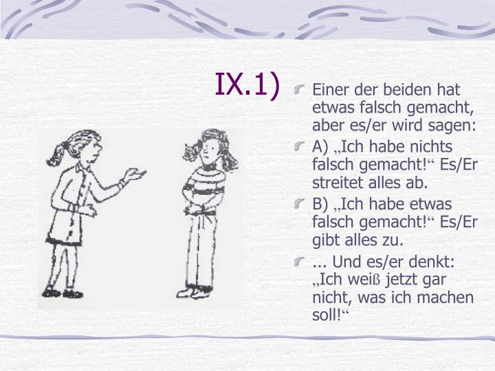 IX.1)