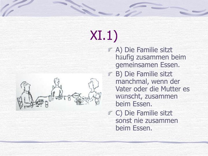 XI.1)