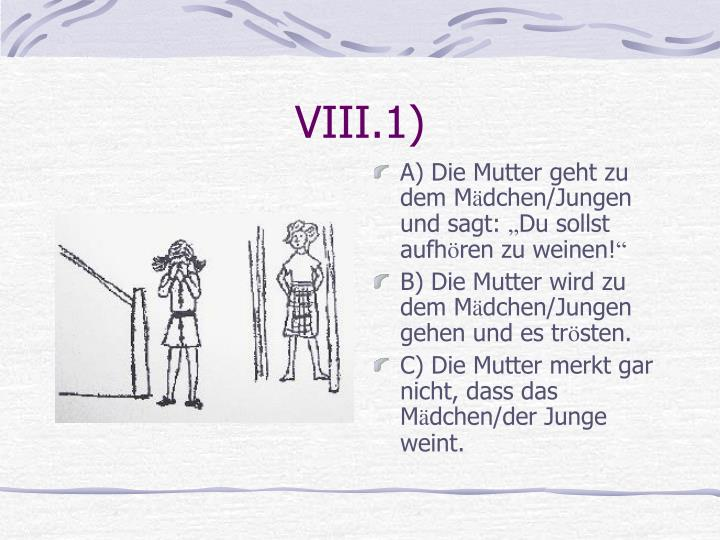 VIII.1)