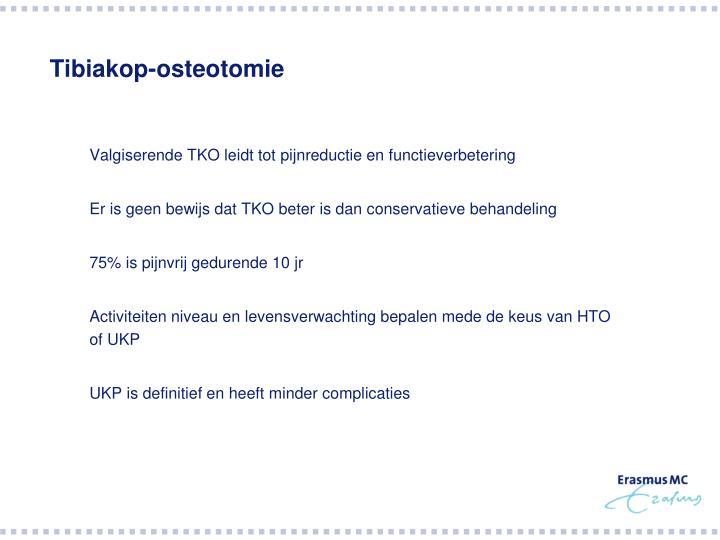 Tibiakop-osteotomie