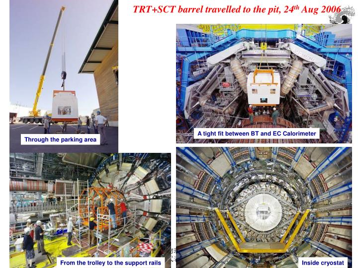 TRT+SCT barrel travelled to the pit, 24