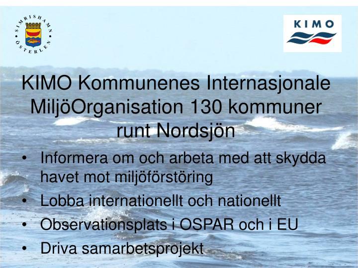 KIMO Kommunenes Internasjonale