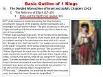 basic outline of 1 kings11