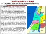 basic outline of 1 kings7