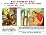 basic outline of 1 kings9