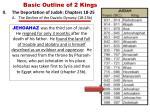 basic outline of 2 kings9