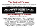 the doctrinal purpose