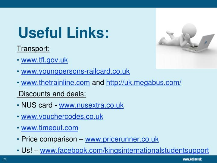 Useful Links: