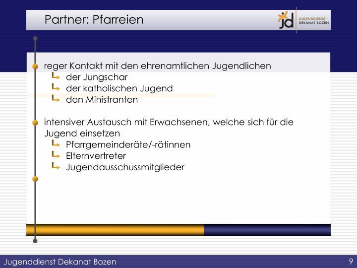 Partner: Pfarreien