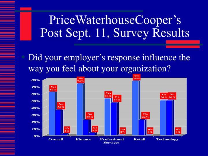 PriceWaterhouseCooper's