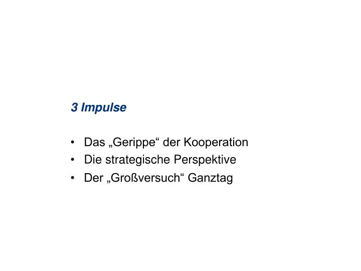 3 Impulse