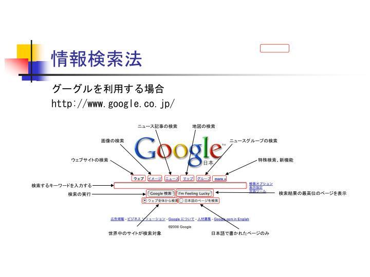 情報検索法