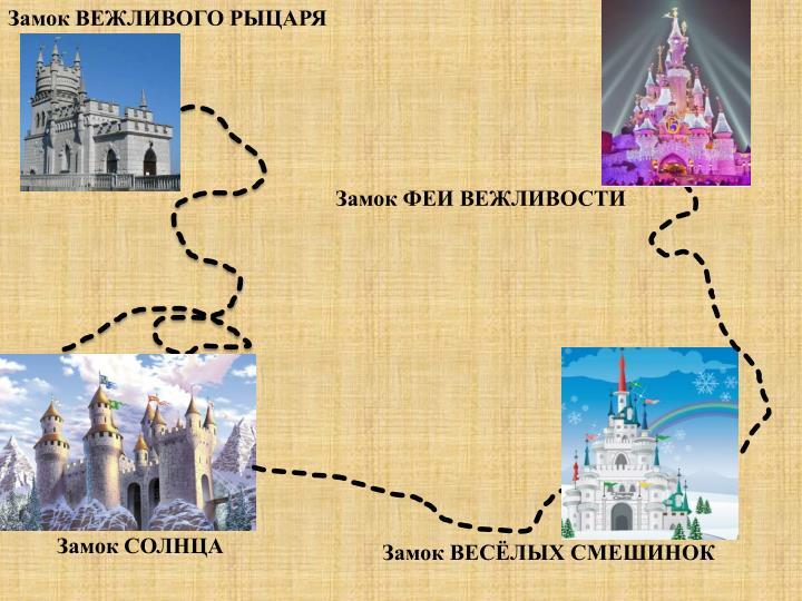 Замок ВЕЖЛИВОГО РЫЦАРЯ