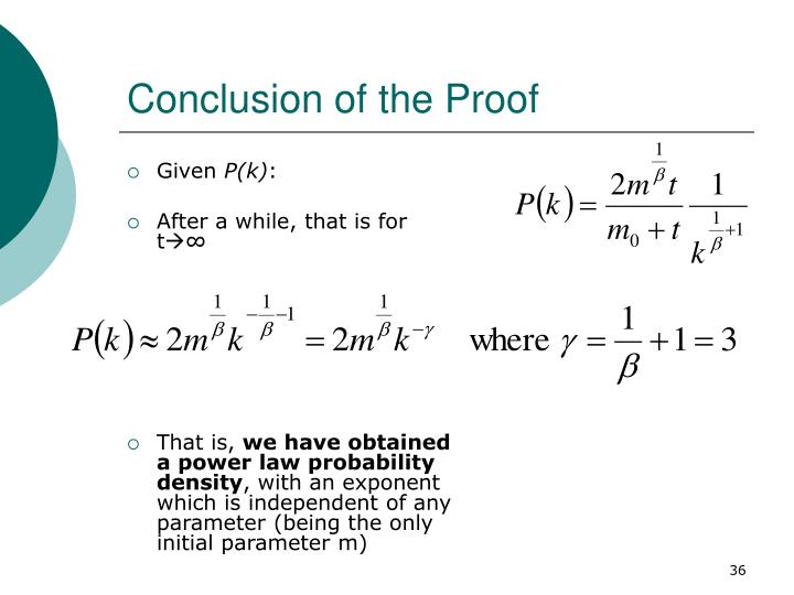 Conclusion of the Proof