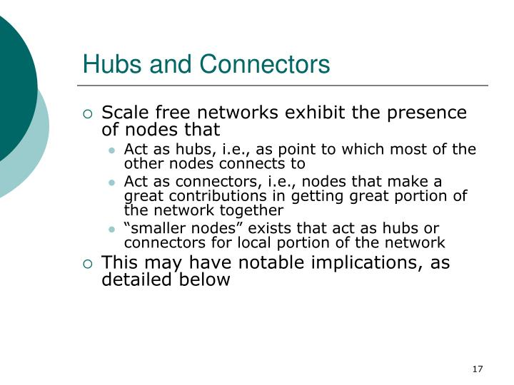 Hubs and Connectors