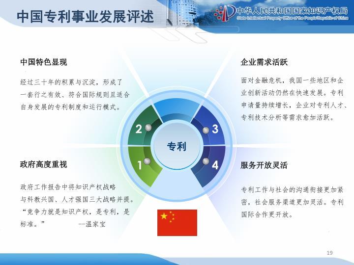 中国专利事业发展评述