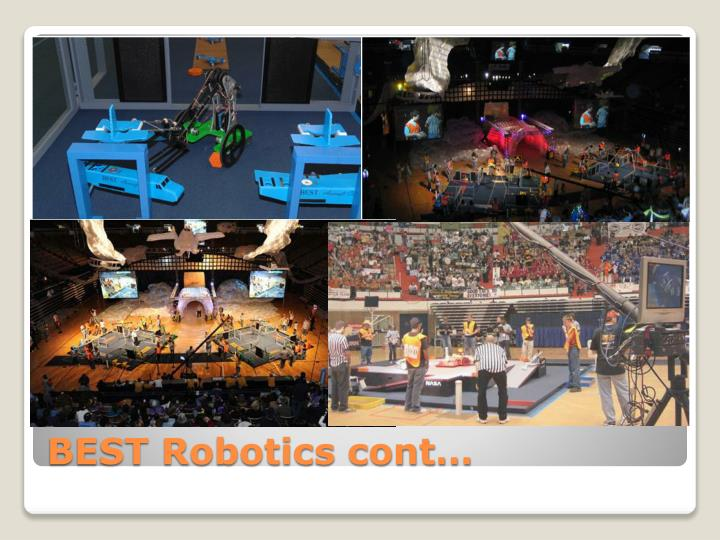 BEST Robotics cont…
