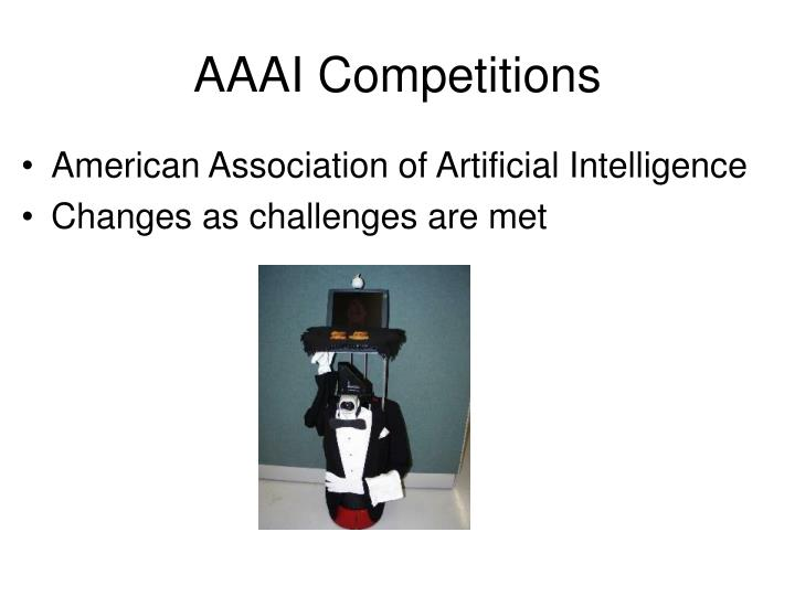AAAI Competitions