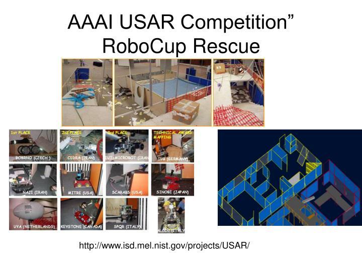 AAAI USAR Competition""