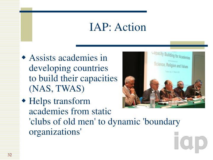 IAP: Action