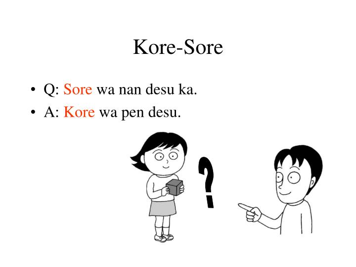 Kore-Sore