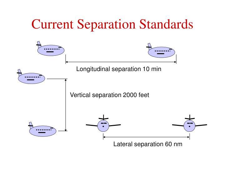 Current Separation Standards