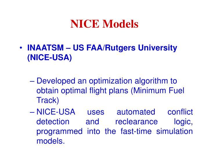NICE Models