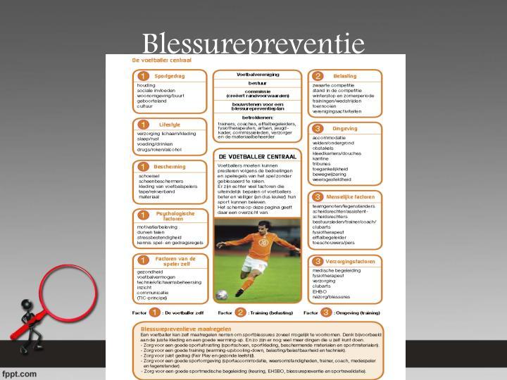 Blessurepreventie