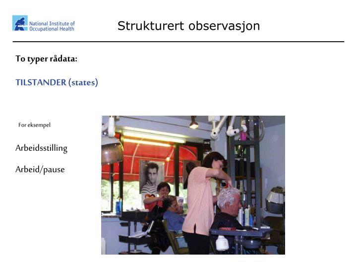 Strukturert observasjon
