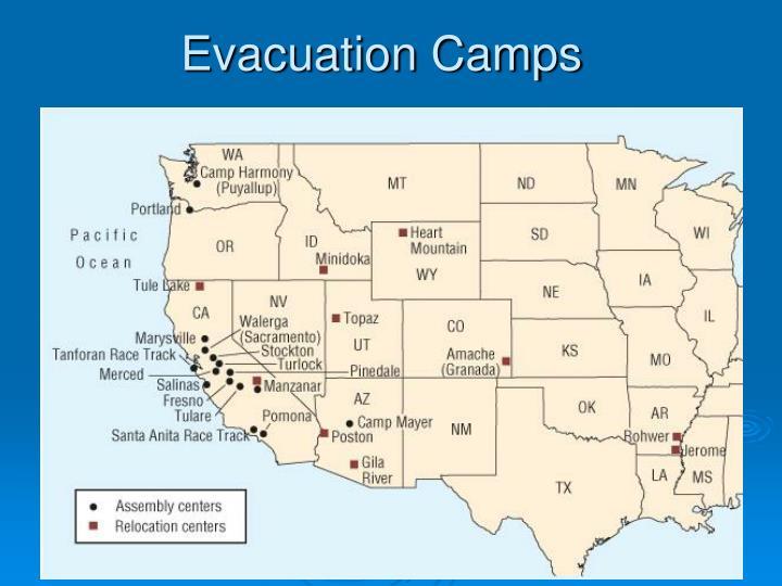 Evacuation Camps