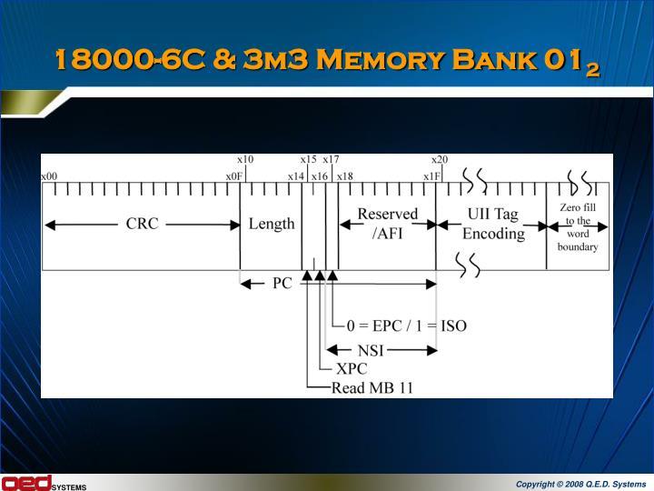 18000-6C & 3m3 Memory Bank 01