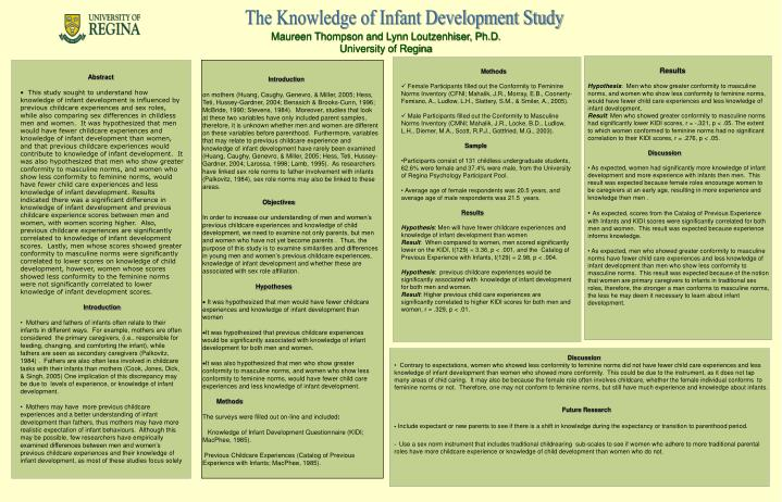 The Knowledge of Infant Development Study